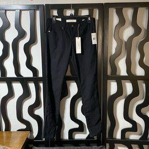 Vintage America Wonderland Skinny Black Pants
